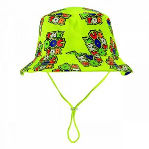 VRKFH354003_VR46 CLASSIC-ALL OVER 19 BUCKET HAT KID MULTI