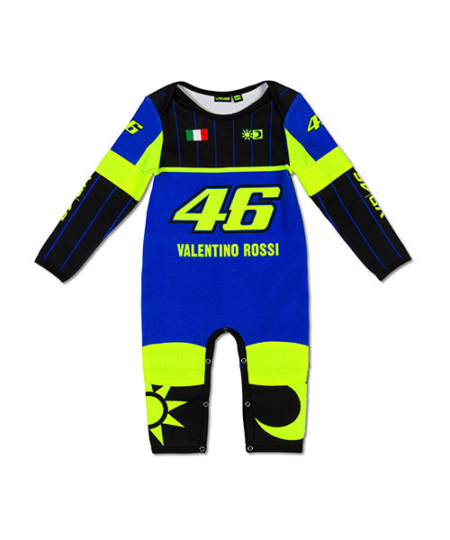 VRKOA363409001_VR46 CLASSIC-REPLICA 19 OVERALL BABY ROYAL BLUE