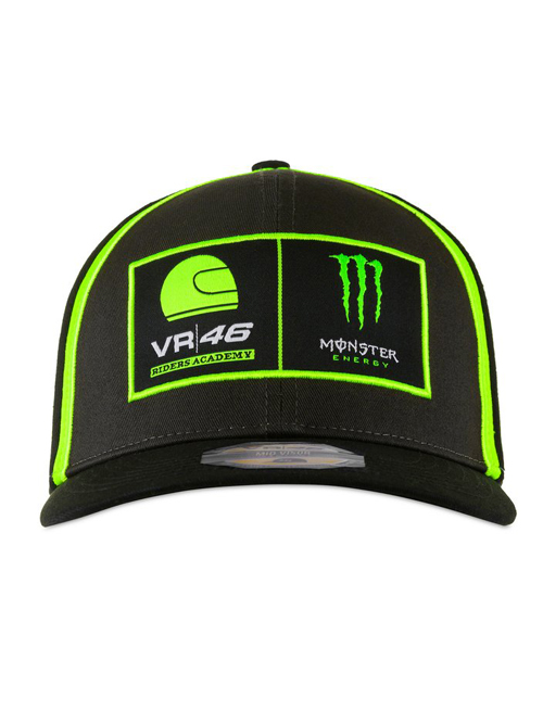 MRMCA398303_VALENTINO_ROSSI_DUAL_MONSTER_VR46_RIDERS_ACADEMY_ADULTS_BASEBALL_CAP_FRONT.jpg